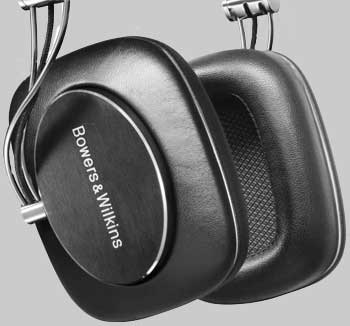 B&W P7 headphones
