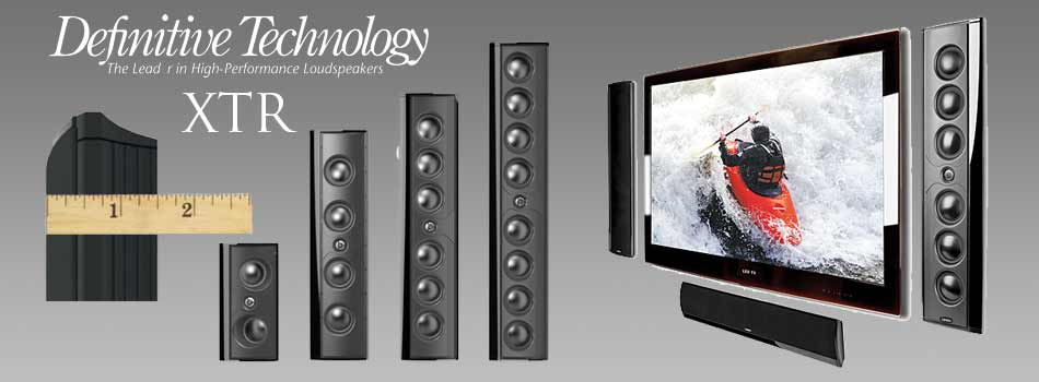 The Stereo Shop Definitive Xtr Speakers