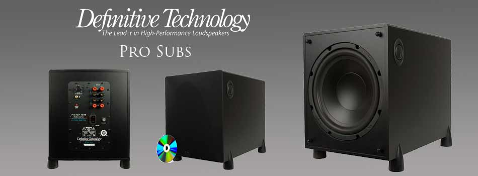the stereo shop definitive pro subwoofers rh thestereoshop com Definitive Technology ProCenter 1000 Definitive Technology ProSub 800 Parts