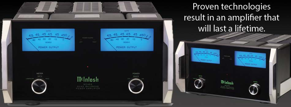mcintosh power amp header