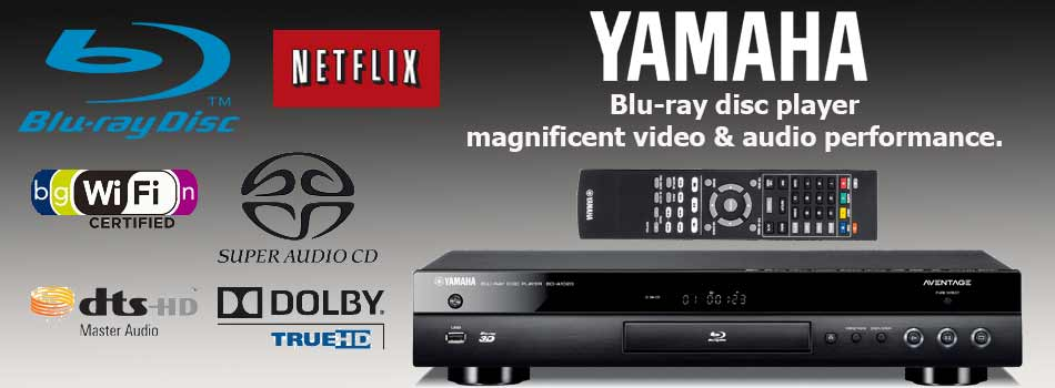 The Stereo Shop-Yamaha Blu-ray Players