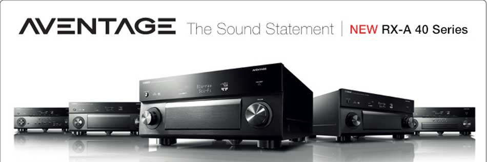 yamaha receivers family