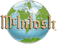 mcintosh world logo